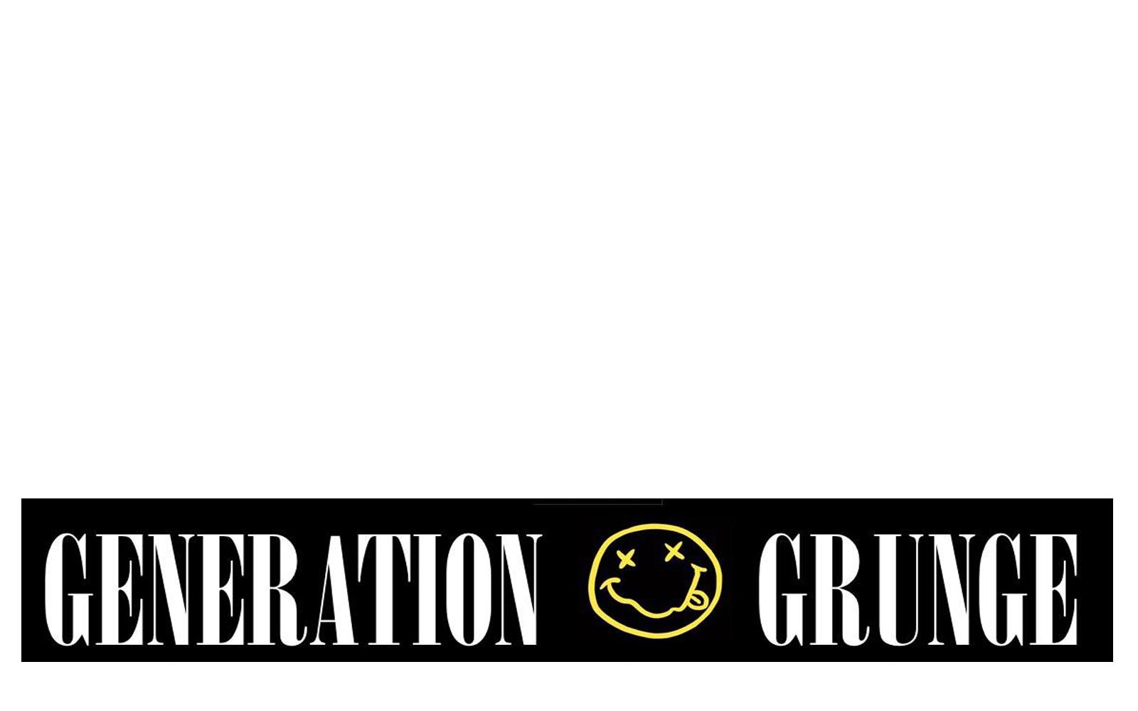 Generation Grunge